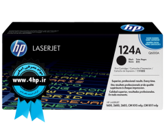 HP 124A Black Original LaserJet Toner Cartridge کارتریج مشکی اچ پی ۱۲۴برای۱۶۰۰-۲۶۰۰-۲۶۰۵-۱۰۱۵-۱۰۱۷